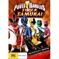 Power Rangers Super Samurai on DVD.