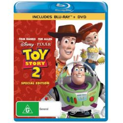 Toy Story 2 (Special Edition) (Blu-Ray/DVD) on DVD.