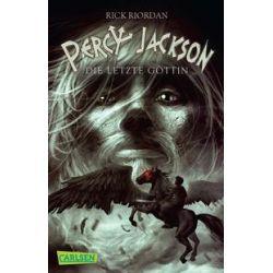 Bücher: Percy Jackson 05: Percy Jackson - Die letzte Göttin  von Rick Riordan