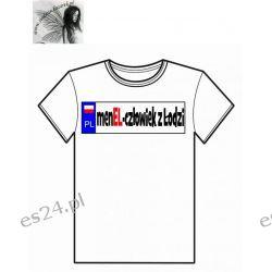 Koszulka MENEL człowiek z Łodzi Usługi