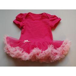 Sukienka body strój na taniec balet karnawał roz80