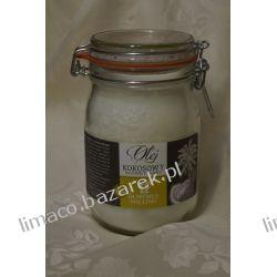 olej kokosowy zimnotłoczony 1 l.