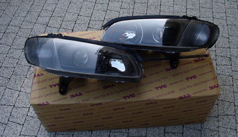 Komplet Lamp Opel Omega B 1994 1999 Czarne Tuning Na Bazarekpl