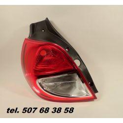 LEWA LAMPA TYŁ RENAULT CLIO III 09-12 NOWE LIFT