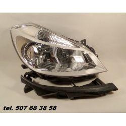 PRAWY REFLEKTOR RENAULT CLIO III 2005-2009 NOWY