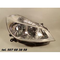 PRAWY REFLEKTOR RENAULT CLIO III 2005-2009 NOWY Kompletne zestawy