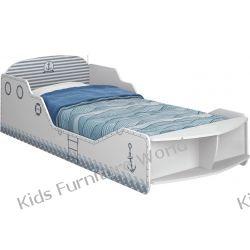 Łóżko statek z materacem
