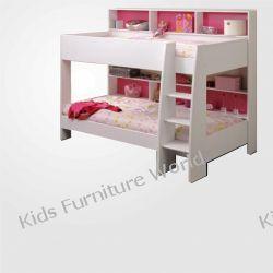Łóżko Piętrowe Eryk 2 osobowe z szufladą i materacami transport gratis