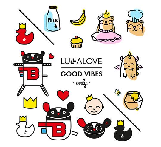 Lullalove Tatuaże Zmywalne Mr B I Przyjaciele Na Bazarekpl