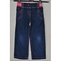 GEORGE * Rewelacyjne SPODNIE jeansy * 4-5L