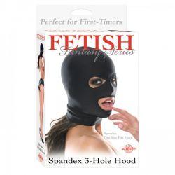Maska z 3 otworami Fetish Fantasy...