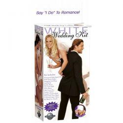 Erotyczny zestaw ślubny idealny na prezent  - White Wedding Kit...