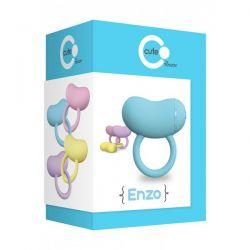 Mega silne wibracje-pierścień wibracyjny na penisa  ToyJoy Cute ENZO...
