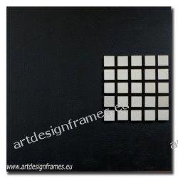 Abst. 605, nowoczesny czarny obraz na ścianę, oryginał o dużym formacie, abstrakcja,