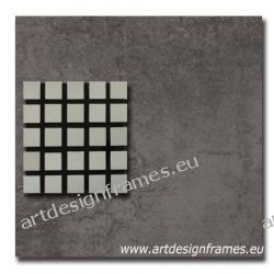 Abst. 605 b, nowoczesny ciemny obraz na ścianę, w betonowej optyce oryginał o dużym formacie, abstrakcja,