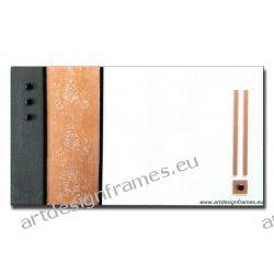 Abst. 618, nowoczesny obraz z płatkami miedzi, piękna dekoracja na ścianę, oryginał, abstrakcja,