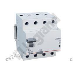 Legrand Wyłącznik różnicowoprądowy RX3 4P 25A 30mA AC