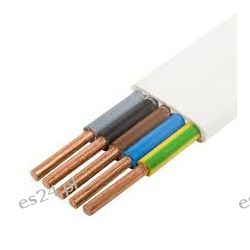 Przewód instalacyjny płaski 450/750V YDYp 5x1,5