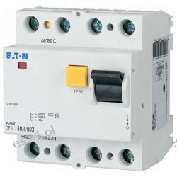 Eaton Moeller Wyłącznik różnicowoprądowy CFI6-40/4/003 30mA