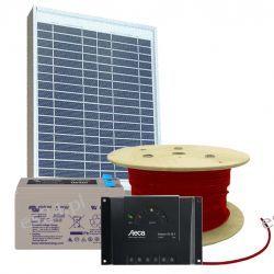 Zestaw słoneczny EKO 12V/20W