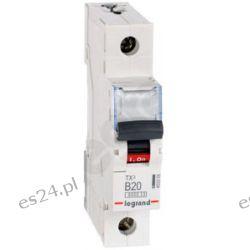 S301 B20 TX3 Wyłącznik nadprądowy, 20A 6kA, charakterystyka B, 1-polowy