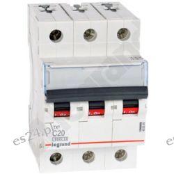 S303 C20 TX3 Wyłącznik nadprądowy, 20A 6kA charakterystyka C, 3-polowy