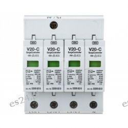Ogranicznik przepięć OBO C 4P 20kA 1,3kV V20-C/4