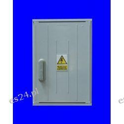 Obudowa termoutwardzalna STN 40x84x25 zamek/cięgła/kątowniki daszek prosty