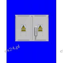 Obudowa termoutwardzalna STN 53x42x25 zamek/cięgła/kątowniki daszek prosty