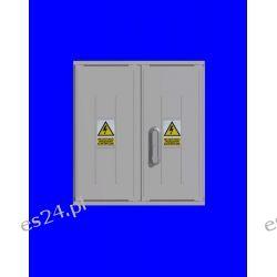 Obudowa termoutwardzalna STN 53x58x25 zamek/cięgła/kątowniki daszek prosty
