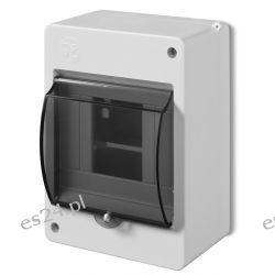 Elektro-plast Obudowa natynkowa typ S 4-mod. z szybą