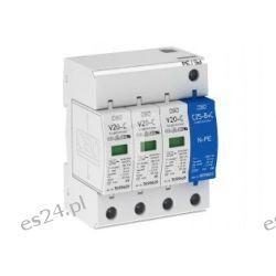 Ogranicznik przepięć C 2P 20kA V20-C/1+NPE-280