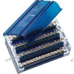 Pawbol Blok rozdzielczy listwa łączeniowa mocowana na szyne TH35 4x11 125A/500V E.4077
