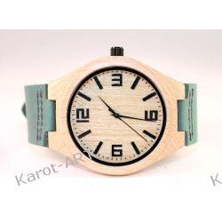 Drewniany zegarek KLON miętowy
