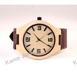 Drewniany zegarek KLON śliwkowy