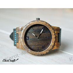 Drewniany zegarek EKOCRAFT EBONY WINTER COLLECTION 2016
