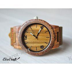 Drewniany zegarek EKOCRAFT VERAWOOD WINTER COLLECTION 2016