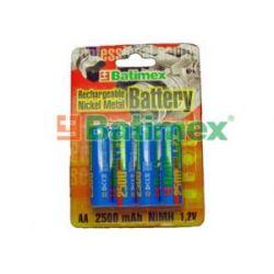 Akumulatorek AA / R6 2500mAh NiMH 1.2V (Batimex)...