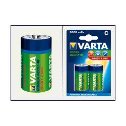 2 x VARTA Ready2Use R14/C Ni-MH 3000mAh...