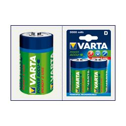 2 x VARTA Ready2Use R20/D Ni-MH 3000mAh...