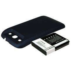 Samsung Galaxy SIII / EB-L1G6LLUC 3300mAh 12.2Wh Li-Ion 3.7V powiększony niebieski (Cameron Sino)...