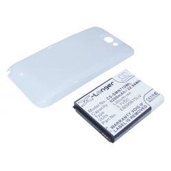 Samsung Galaxy Note II / EB595675LU 6200mAh 22.94Wh Li-Ion 3.7V powiększony biały (Cameron Sino)...
