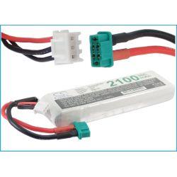 2100mAh Li-Polymer 7.4V 2S 30C Deans / T-Plug AWG14 (Cameron Sino)...