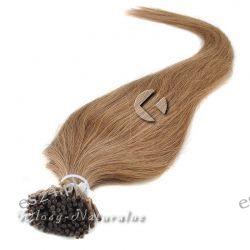 Pasemka włosy 100% Naturalne Remy 45cm 0.8g