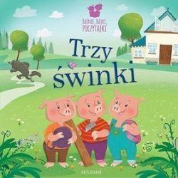 Baśnie, bajki, poczytajki. Trzy świnki - Bogusław Michalec