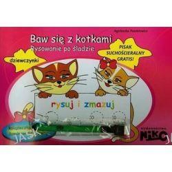 Baw się z kotkami. Rysowanie po śladzie - Agnieszka Paszkiewicz