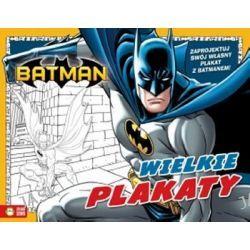 Batman Wielkie plakaty + zawieszki na drzwi Kolorowanka