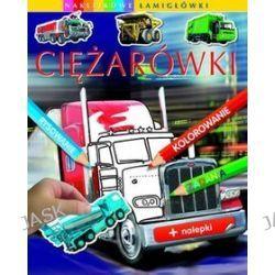 Ciężarówki. Naklejkowe łamigłówki - Emilie Beaumont