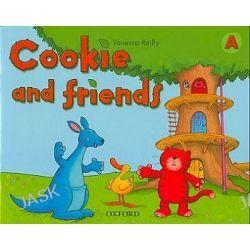 Cookie and Friends A. Język angielski. Podręcznik - edukacja przedszkolna - Vanessa Reilly