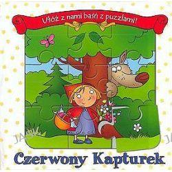 Czerwony kapturek - książeczka puzzle